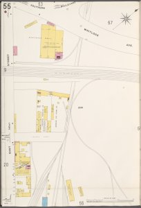 Bronx, V. 9, Plate No. 55 [Map bounded by E. 141st St., Whitlock Ave.]