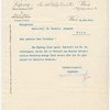 Typed letter signed, Emil Hertzka to Schenker, Item# 66
