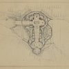 "Early sketch plan of New York World's Fair: ""S1. Scheme 2.""  (Submitted by Gilmore D. Clarke, June 16, 1936)"
