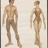 Ricercare - color sketch of male and female dancers