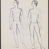 Ricercare - sketch of male dancer