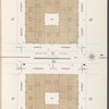 Manhattan, V. 1, Plate No. 44 [Map of Hudson River Railroad storage stores: 2nd & 3rd floor, bounded by Hudson St., Laight St., Varick St., Beach St.]