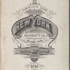 Insurance maps of the City of New York, Borough of Manhattan. Volume Four. Published by the Sanborn Map Company, 11 Broadway, New York, 1910.