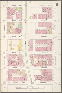 Manhattan, V. 7, Plate No. 6 [Map bounded by W. 81st St., Amsterdam Ave., W. 76th St., W. End Ave.]