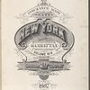 Insurance maps of the City of New York. Borough of Manhattan. Published by Sanborn Map Co., 11 Broadway, 1907. Volume 6.