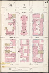 Manhattan, V. 6, Plate No. 48 [Map bounded by Park Ave., E. 70th St., 3rd Ave., E. 67th St.]