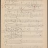 Sketches for a graph of Scherzo, Op. 31, D Flat Major, Item# 134 (verso)