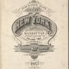 Insurance maps of the City of New York. Borough of Manhattan. Volume 2. Published by Sanborn Map Co., 11 Broadway, New York. 1903.