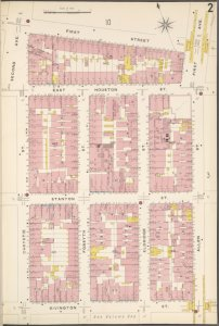 Manhattan, V. 2, Plate No. 2 [Map bounded by 1st St., Allen St., Rivington St., Chrystie St.]