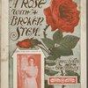 A rose with a broken stem