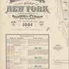 Insurance maps of the City of New York. Surveyed and published by Sanborn-Perris Map Co., Limited, 115 Broadway, 1891. Volume 9.
