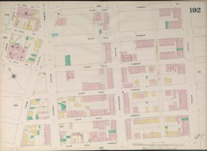 Manhattan, V. 9, Double Page Plate No. 192 [Map bounded by East 139th St., Willis Ave., East 134th St., Rider Ave.]
