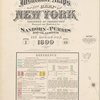Insurance maps of the City of New York. Borough of Manhattan.Surveyed and published by the Sanborn-Perris Map Co., Limited, 115 Broadway. Volume 5. 1899.