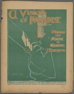 A vision of Paradise / words and music by Arthur Trevelyan
