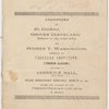 Addresses of His Excellency, Grover Cleveland and Booker T. Washington, title page
