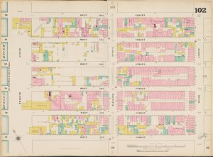 Bronx, V. 5, Double Page Plate No. 102 [Map bounded by W. 52nd St., 10th Ave., W. 47th St., 12th Ave.]