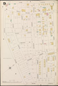 Bronx, V. B, Plate No. 9 [Map bounded by Park Ave., 1st Ave., 5th Ave., Briggs Ave.]