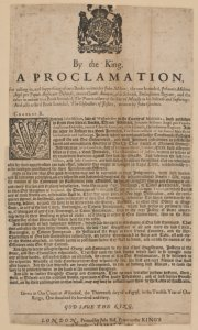 By the king. A proclamation, for calling in, and suppressing of two books written by John Milton; the one intituled, Johannis Miltoni Angli Pro populo Anglicano defensio, contra Claudii anonymi, aliàs Salmasii, Defensionem regiam; and the other in answer to a book intituled, The pourtraicture of His Sacred Majesty in his solitude and sufferings. And also a third book intituled, The obstructors of justice, written by John Goodwin.