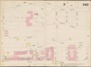 Bronx, V. 11, Double Page Plate No. 242 [Map bounded by Convent Ave., W. 138th St., 8th Ave., W. 130th St.]