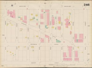 Bronx, V. 11, Double Page Plate No. 246 [Map bounded by Boulevard, W. 145th St., Convent Ave., W. 138th St.]