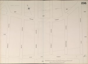 Bronx, V. 10, Double Page Plate No. 235 [Map bounded by Elliot St., Clay Ave., E. 169th St., Sherman Ave.]