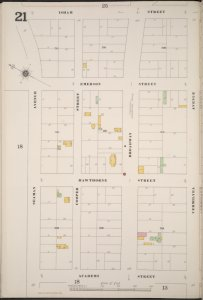 Manhattan, V. 12, Plate No. 21 [Map bounded by Isham St., Vermilyea Ave., Academy St., Seaman Ave.]