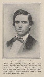 Maj. Gen. John A. Rawlins.