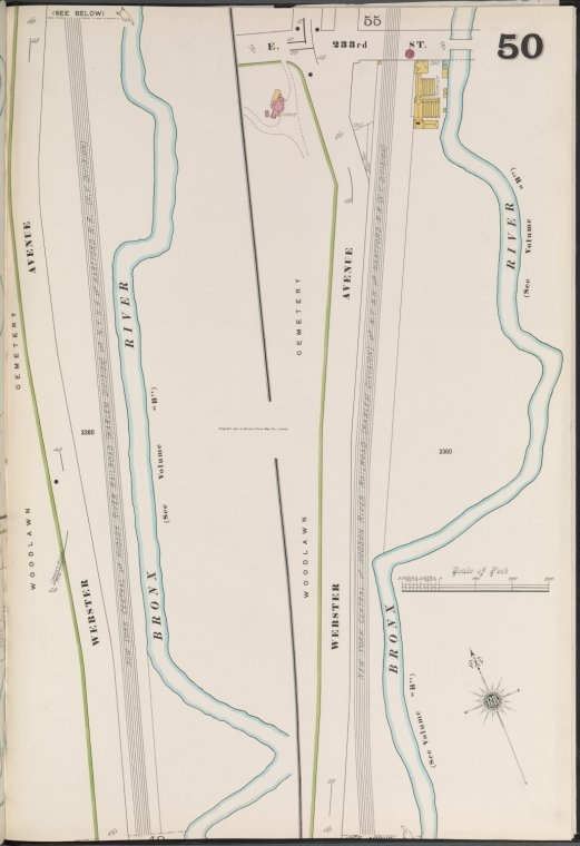 Bronx, V. 13, Plate No. 50 [Map bounded by E. 233rd St., Webster Ave.]