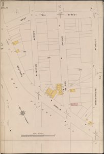 Bronx, V. 15, Plate No. 1 [Map bounded by W. 172nd St., Shakespeare Ave., Boscobel Ave.]