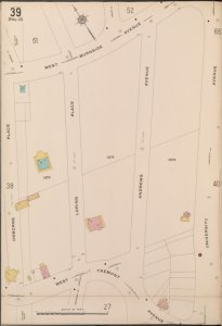 Bronx, V. 15, Plate No. 39 [Map bounded by W. Burnside Ave., University Ave., W. Tremont Ave., Osborne Place]