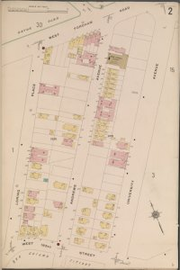 Bronx, V. 14, Plate No. 2 [Map bounded by W. Fordham Rd., University Ave., W. 183rd St., Loring Place]