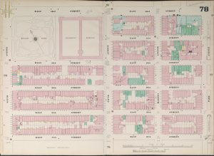 Bronx, V. 4, Double Page Plate No. 78  [Map bounded by W. 42nd St., E. 42nd St., Park Ave., E. 37th St., W. 37th St., 6th Ave.]