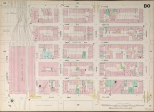 Bronx, V. 4, Double Page Plate No. 80  [Map bounded by E. 47th St., 2nd Ave., E. 42nd St., Vanderbilt Ave.]