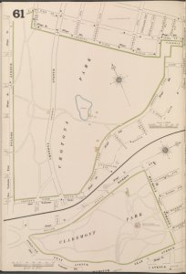 Bronx, V. 14, Plate No. 61 [Map bounded by 175th St., Crotona Park East, Crotona Park South, Fulton Ave.]