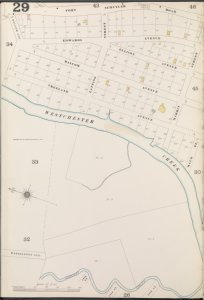 Bronx, V. A, Plate No. 29 [Map bounded by Fort Schuyler Rd., Seberry Creek]