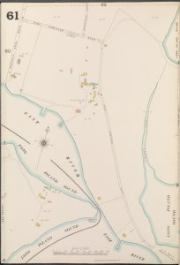Bronx, V. A, Plate No. 61 [Map bounded by Fort Schuyler Rd., Long Island Sound, East River]