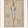 [Coat with sleeves and closing edged with faille silk.]