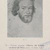 Portrait présumé d'Henri de Gondi, cardinal de Retz. . .