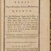 Anno regni Georgii III. regis Magnæ Britanniæ, Francæ, & Hiberniæ, quinto.  ...(Title page)