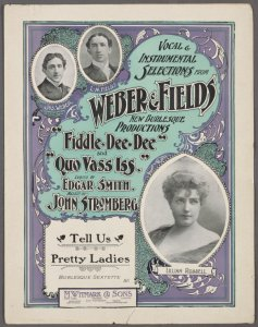 Tell us pretty ladies / words by Edgar Smith ; music by John Stromberg.