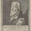 Nicholas Ridley, bishop of London. He died a constant martyr for the truth, and was burnt at Oxford the 16th of Octob: 1555