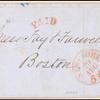 5c black Washington provisional single on cover