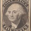 5c black Washington provisional pos. 12 single