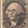 5c black Washington provisional pos. 6 single