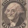 5c black Washington provisional pos. 7 single