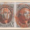 10c black Washington pair