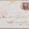 10c black Washington pair on express mail cover