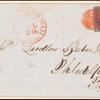 10c black Washington single on express mail cover