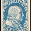 blue carrier stamp essay