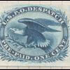 1c blue Eagle carrier proof